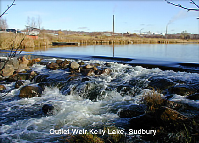 Kelly Lake Outlet Weir - Sudbury Ontario