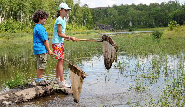 summer camp Lake Laurentian Conservation Sudbury at camp Bitobig