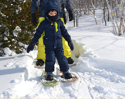 boy-on-snowshoes